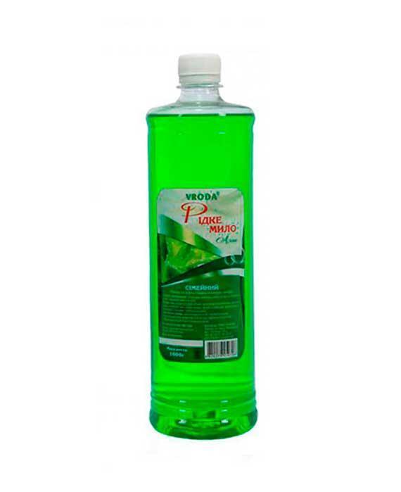 Жидкое мыло «Алое» Vroda Семейное, 1 л