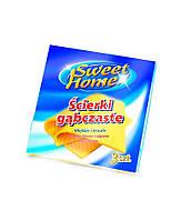 Салфетки вискозные для уборки Sweet Home, 3 шт
