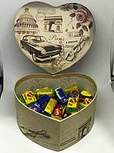 Жевательная жвачка Love is, жвачки лове ис ассорти в подарочной упаковке 50 шт №2
