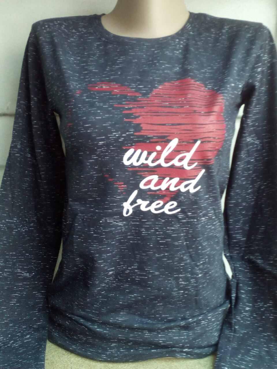Женский Батник Wild and Free Турция р.S-M, L-XL Оптом