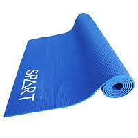Коврик для фитнеса и йоги с принтом 4мм Rising EM3017-0,4, фото 1
