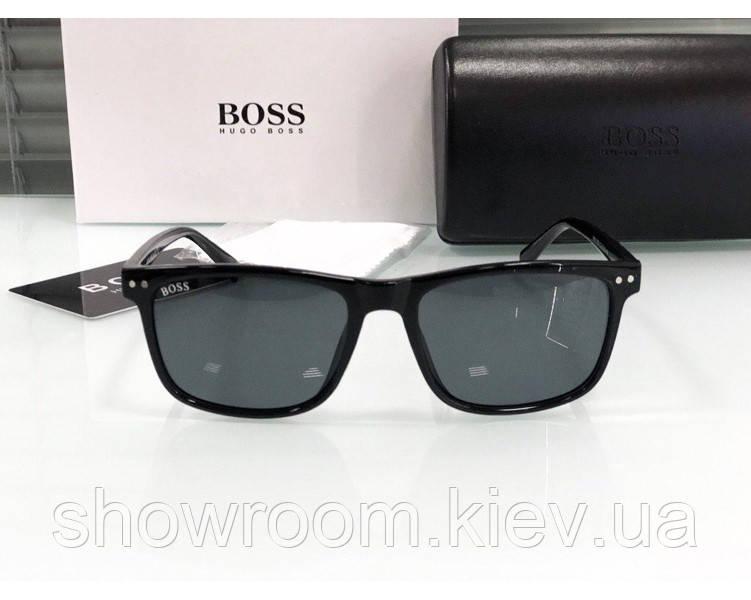 Мужские солнцезащитные очки в стиле Boss (8669)