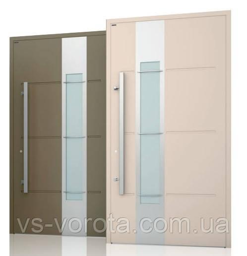 Двери алюминиевые входные WISNIOWSKI модель CREO 326 - размер 1200Х2300 мм