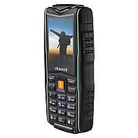 Защищенный телефон Vkworld Stone NEW V3 green  IP68 (3SIM) Гарантия! Рус кнопки.