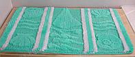 Набор ковриков для ванной комнаты бирюзовый. Коврик для ванной цена
