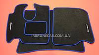 MERCEDES ATEGO 2005> ворсовые ковры в салон синие