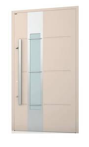 Двери из алюминиевого профиля WISNIOWSKI модель CREO 324 - размер 1200Х2300 мм