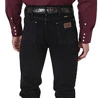 Американские джинсы Wrangler 36MWZBK Slim Fit Black
