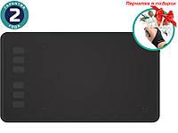 Графический планшет Huion H640P + перчатка