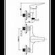 Смеситель для душа Koller Pool Twin TN0400, фото 2
