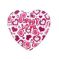 """Набор из трех банок """"Сердце"""" Сладкая любовь"""