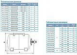 Гидроаккумулятор Aquatica 779113 (50 л), нержевающий бак, фото 4