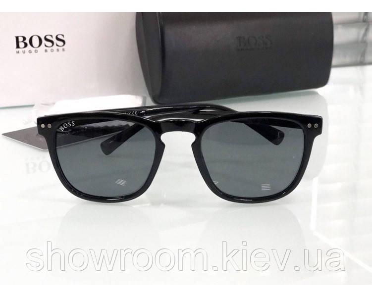 Мужские очки от солнца в стиле Boss (8672)
