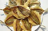 Желтый Полосатик солено- сушеная рыбка  - закуска к пиву (рыбные снеки) 1 кг, фото 5