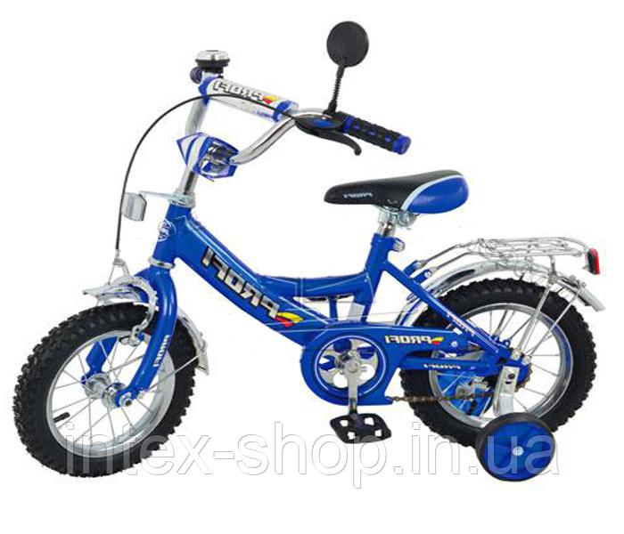"Велосипед PROFI детский 16"" P 1633 Синий"