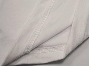 Плотная и мягкая мужская футболка 61-422-0 Белый, S, фото 2