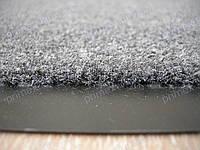 Ковер придверный грязезащитный 60х80см., темно-серый цвет пепельный. Грязезащитный коврик купить