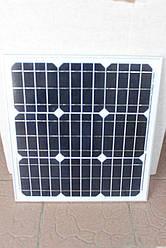 Сонячна батарея (панель) ALM-30M 30 Вт монокристал