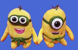 Мультяшный Миньйон 16 см мягкая плюшевая игрушка веселый Миньйон мягкие игрушки для детей