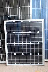 Сонячна батарея (панель) ALM-50M 50 Вт монокристал
