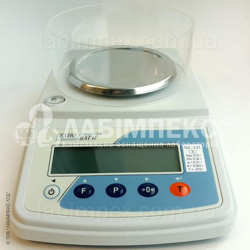 Весы лабораторные ТВЕ-0.21-0.001-а