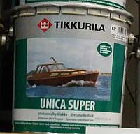 Лак Unica Super Tikkurila для дерева п/гл Уника Супер , 2.7л.