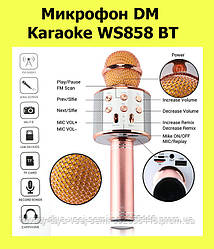 Микрофон DM Karaoke WS858 BT!АКЦИЯ