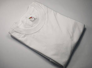 Плотная и мягкая мужская футболка 61-422-0 Белый, 5XL, фото 2