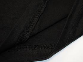 Плотная и мягкая мужская футболка 61-422-0 Чёрный, 5XL, фото 2