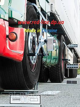 Стенд развал-схождение REDLINE для грузовых автомобилей