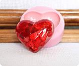 Силиконовый молд сердца, фото 2