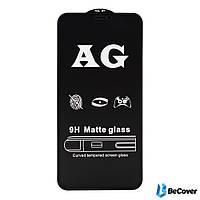 Защитное стекло AG Matte BeCover для Huawei P Smart 2019 Black (703150)
