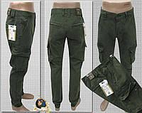 8d97ab2a25e Джинсы мужские Iteno оригинал с накладными карманами карго на  манжете-резинке