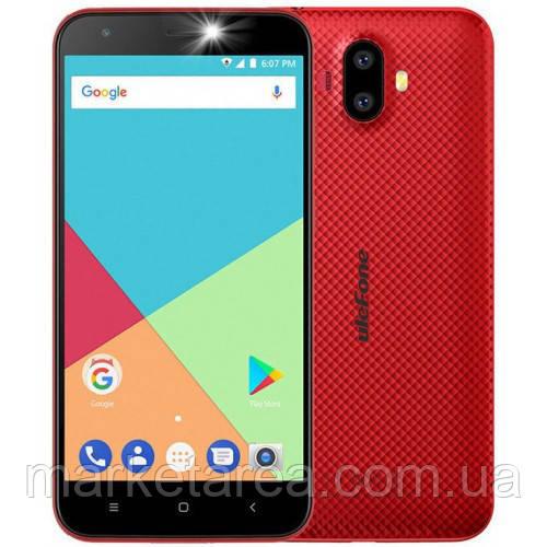 Смартфон улефон красный с двойной камерой на 2 сим карты UleFone S7 Pro 2/16Gb red
