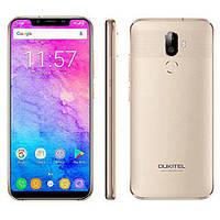 """Смартфон OUKITEL U18 gold золото (2SIM) 5.85"""" 4/64gb 8/13МП 3G 4G оригинал Гарантия!"""