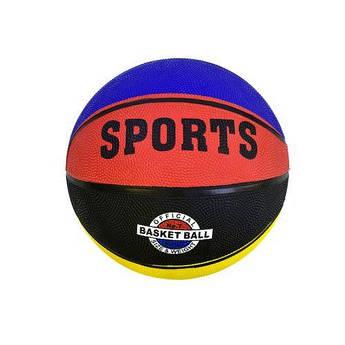 """Мяч баскетбольный """"SPORTS"""" (цветной) С34469"""