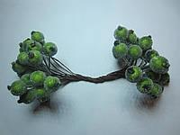 Калина декоративная оливковая (травяная) сахарная, соцветие из 40 ягод, диаметр ягоды 12мм