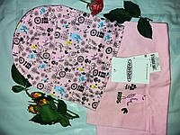 Детский комплект демисезонный шапка и снуд(хлопок), фото 1