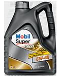 Олива Mobil Super 3000 5w40 4л