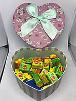 Жевательная жвачка Love is, жвачки лове ис ассорти в подарочной упаковке 50 шт №6