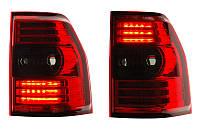 Фонари задние Mitsubishi Pajero Wagon 4 (красные, диодные)