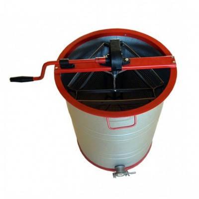 Медогонка 3-х рамкова неповоротна (діаметр бака - 465 мм), фото 2