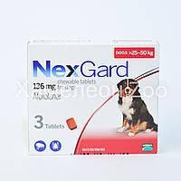 Нексгард 25-50 кг таблетки від бліх та кліщів для собак 1 таблетка