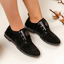 Туфли женские  №220 (замшевые)