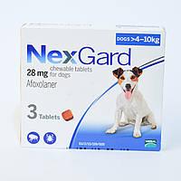 Нексгард (NexGard)4-10 кг таблетки от блох и клещей для собак 1 таблетка