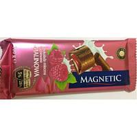 Шоколад MAGNETIC з малиновою начинкою 100г (1/20)