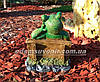 Садовая фигура Грибы Рыжики и Лягушка парковая, фото 3
