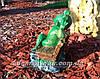 Садовая фигура Грибы Рыжики и Лягушка парковая, фото 4