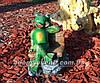 Садовая фигура Грибы Рыжики и Лягушка парковая, фото 5