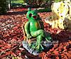 Садовая фигура Грибы Рыжики и Лягушка парковая, фото 6